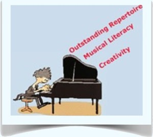Outstanding Repertoire, Musical Literacy, Creativity