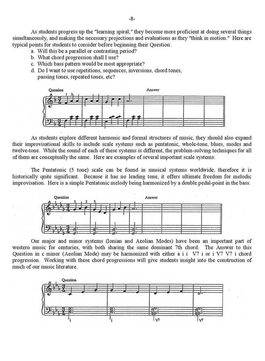 Pg 7: Improvising and Creative Problem-Solving