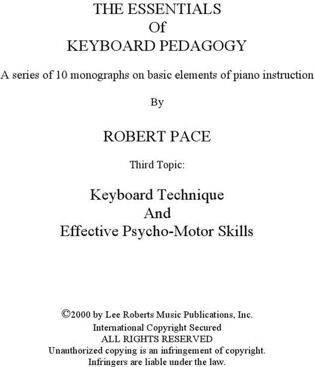 Keyboard_Technique_And_Effective_PsychoMotor_Skills-Robert_Pace