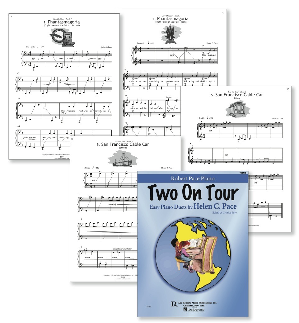 Two On Tour Duets - Book - Sample